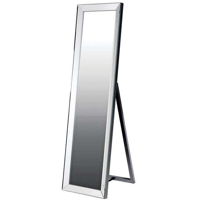 Silver Cheval Floor Standing Mirror
