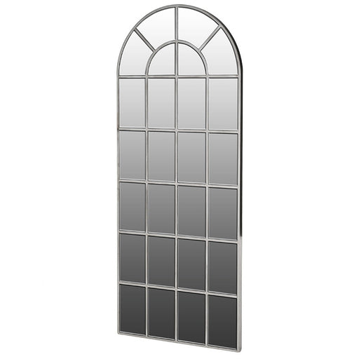 Large Tall Arch Window Effect Wall Mirror