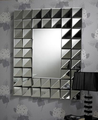 Multifacet Border Mirror 120 x 90 CM-Wall Mirror-Chic Concept