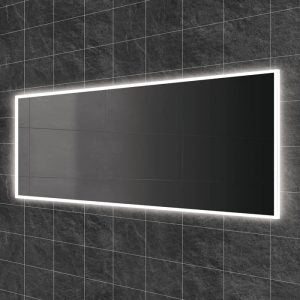 Globe LED Rectangular Bathroom Wall Mirror - 60 cm x 140 cm