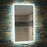 Globe LED Rectangular Bathroom Wall Mirror - 80 cm x 45 cm