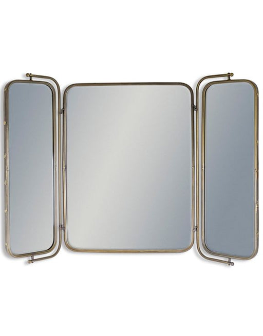 Industrial Style 3 Folding Wall Mirror