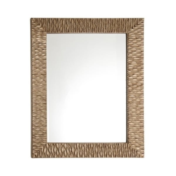Modern Gold Iona Rectangular Wall Mirror