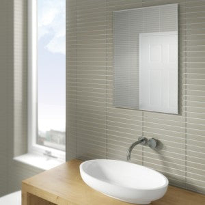 Joshua Rectangular Bathroom Wall Mirror - 70 cm x 50 cm
