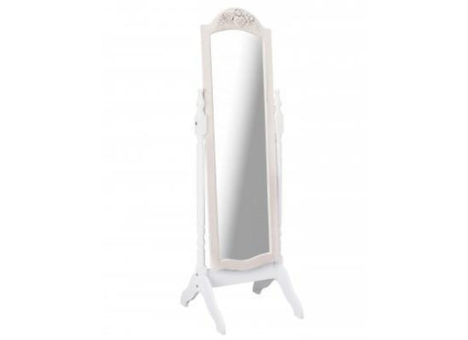 Juliette Cream Cheval Mirror-Cheval Mirror-Chic Concept