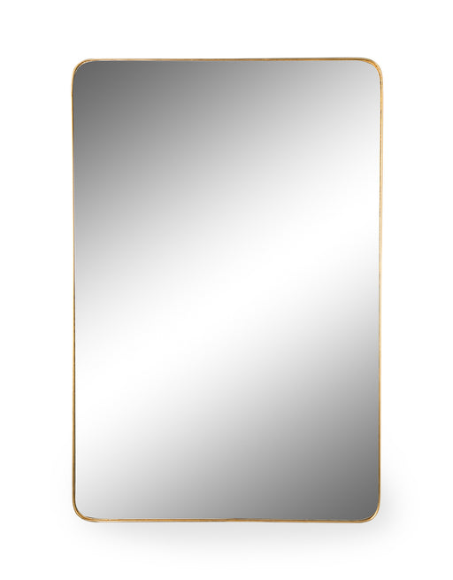 Modern Rectangular Gold Frame Arden Wall Mirror