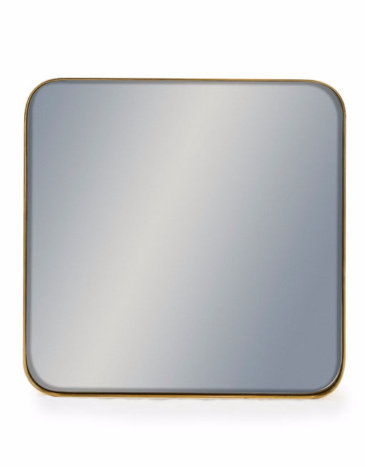 Modern Square Gold Frame Arden Wall Mirror - 50.7 cm x 50.7 cm