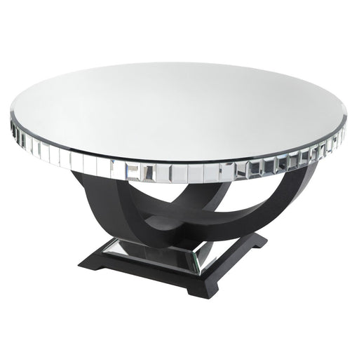 Object Round Mirrored Coffee Table