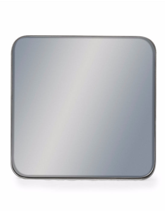 Silver Square Framed Arden Wall Mirror