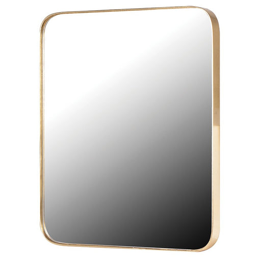 Gold Frame Rectangular Wall Mirror
