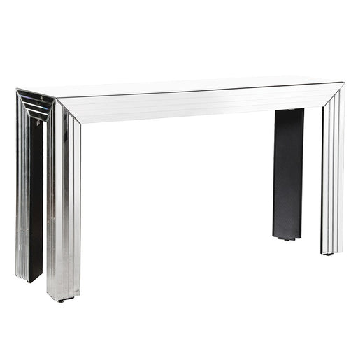 Venetian Mirrored Layered Console Table
