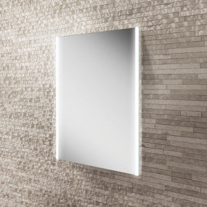 Zircon LED Rectangular Bathroom Wall Mirror - 70 cm x 50 cm