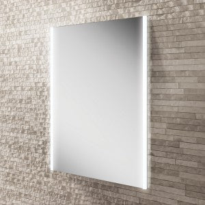 Zircon LED Rectangular Bathroom Wall Mirror - 80 cm x 60 cm