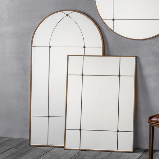 Antique Ariah Rectangular Wall Mirror