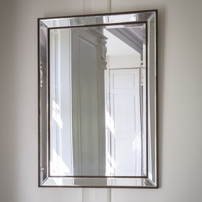 Modern Ashkirk Rectangular Wall Mirror