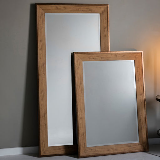 Barrington Oak Effect Leaner Mirror