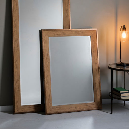 Barrington Oak Effect Rectangular Wall Mirror