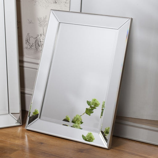 Baskin Bevelled Edge Rectangular Wall Mirror