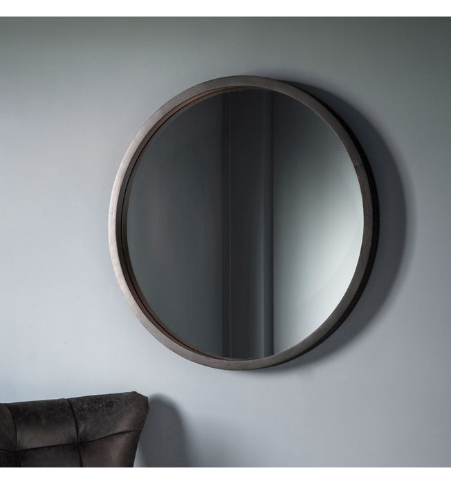 Boho Boutique Round Wall Mirror