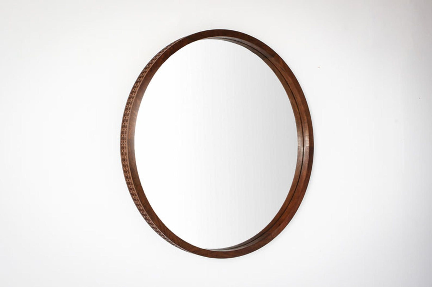 Boho Retreat Round Wall Mirror