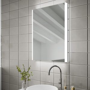 Connect LED Rectangular Bathroom Wall Mirror - 70 cm x 50 cm