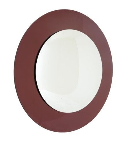 Luna Purple Convex Wall Mirror