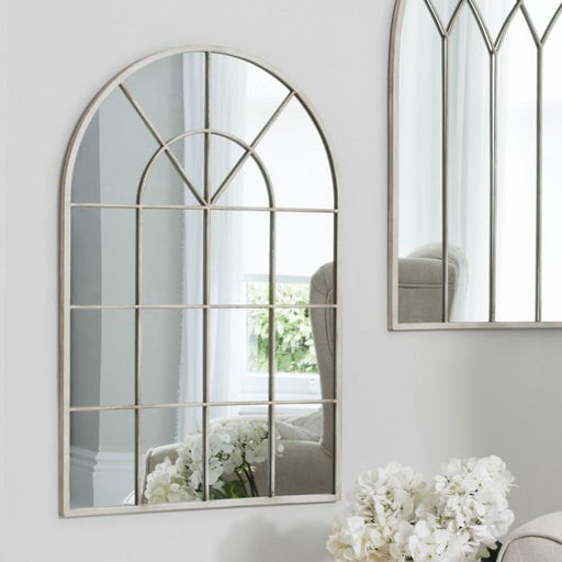 Kelford Traditional Wall Mirror Vintage Cream-Wall Mirror-Chic Concept