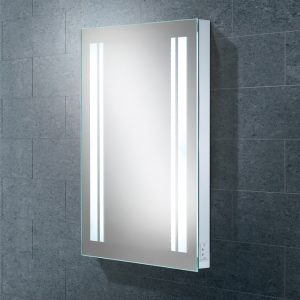 Nexus LED Rectangular Bathroom Wall Mirror - 80 cm x 45 cm