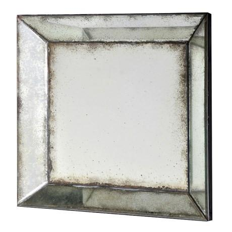 Square Venetian Antique Mirror-Antique Mirror-Chic Concept