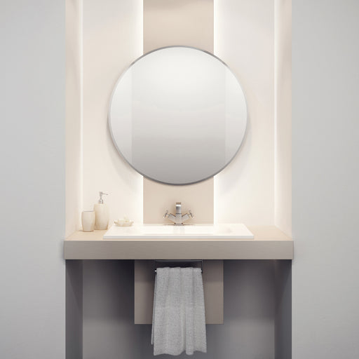 Rondo Round Bathroom Wall Mirror - 50 cm