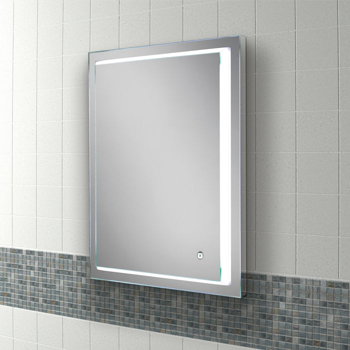 Spectre LED Rectangular Bathroom Wall Mirror - 70 cm x 50 cm