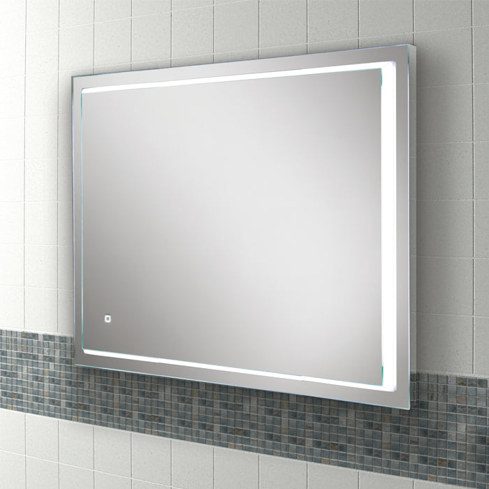 Spectre LED Rectangular Bathroom Wall Mirror - 80 cm x 60 cm