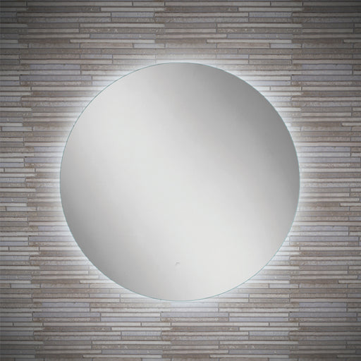 Theme LED Round Bathroom Wall Mirror - 60 cm
