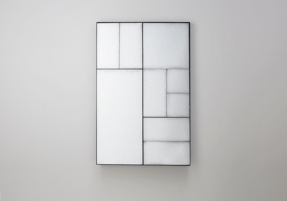Broadheath 9 Panels Rectangular Wall Mirror