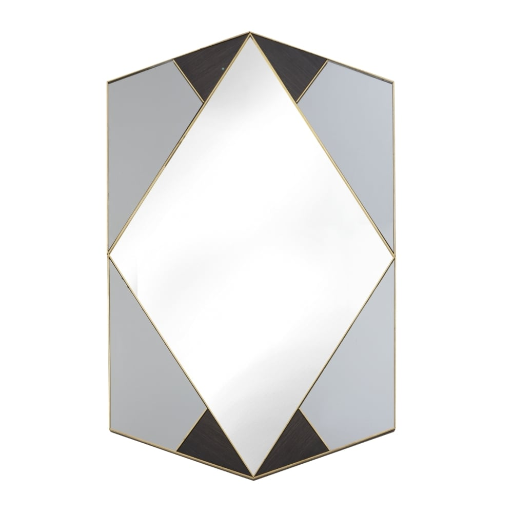 Valais Art Deco Wall Mirror