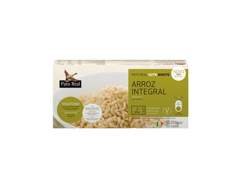 Arroz Integral NutriMinuto Pato Real
