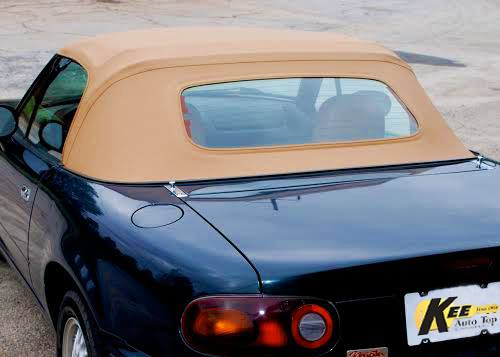 1990-2005 Mazda Miata New Replacement Stay Fast Canvas Glass Window Soft Top