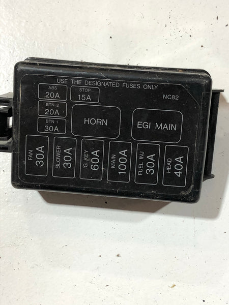 1990-2005 Mazda Miata Fuse Box Cover
