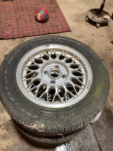 "Mazda Miata BBS Wheels 14"" in 4x100 Set of 4"