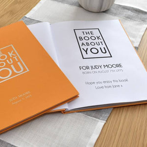 Personalized Book About You