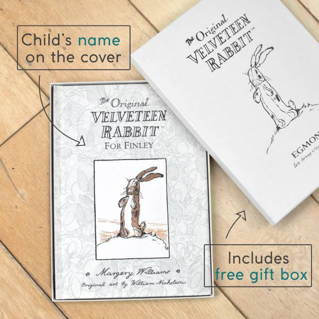 Personalized Velveteen Rabbit First Edition Book