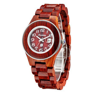 Lady's Cherrywwood Watch