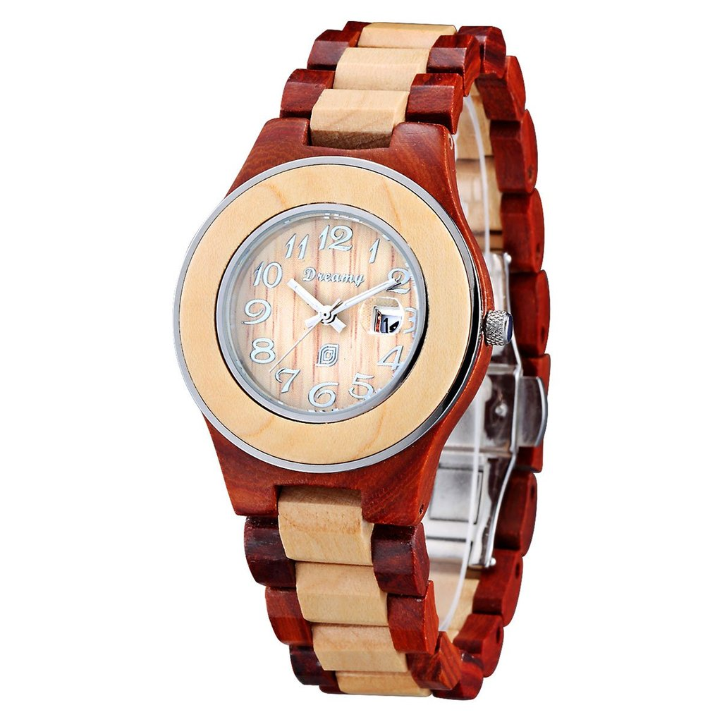 Lady's Cherry & Maplewood Watch