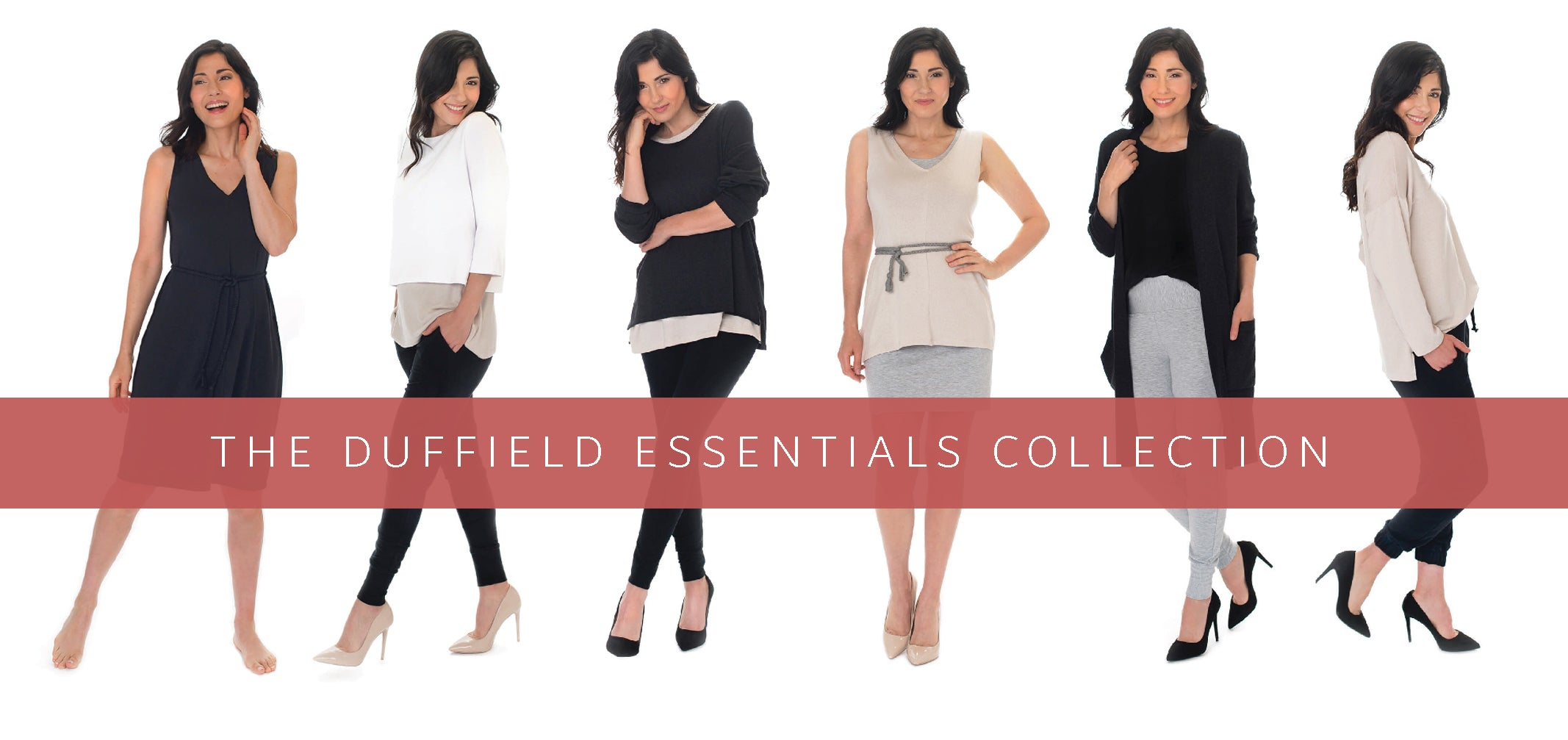 Duffield Design Essentials Collection is made from sustainable fabrics and are made in Canada.
