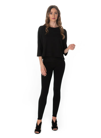 Leggings Wide Waistband - Merino Wool