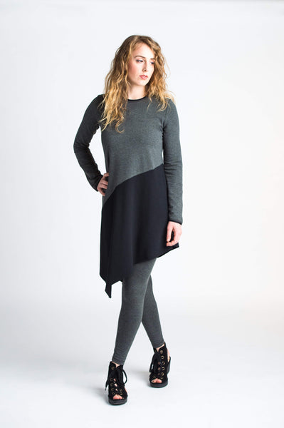Duffield-Design-Balance-Black-Grey-Tunic-Front