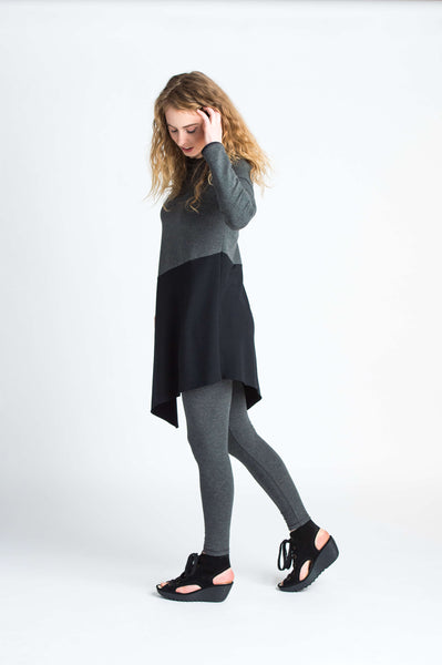 Duffield-Design-Balance-Black-Grey-Tunic-Left-Side