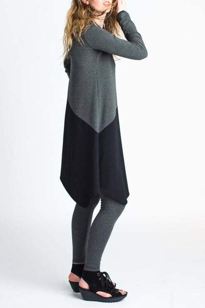 Duffield-Design-Balance-Black-Grey-Tunic-Right-Side