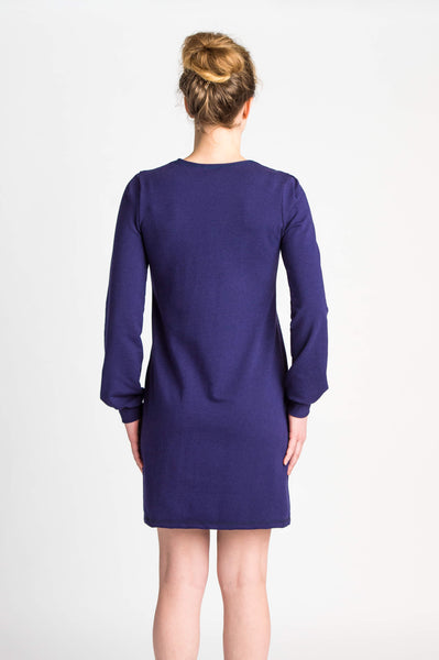 Duffield-Design-Cosmos-Dress-Iris-Blue-Back