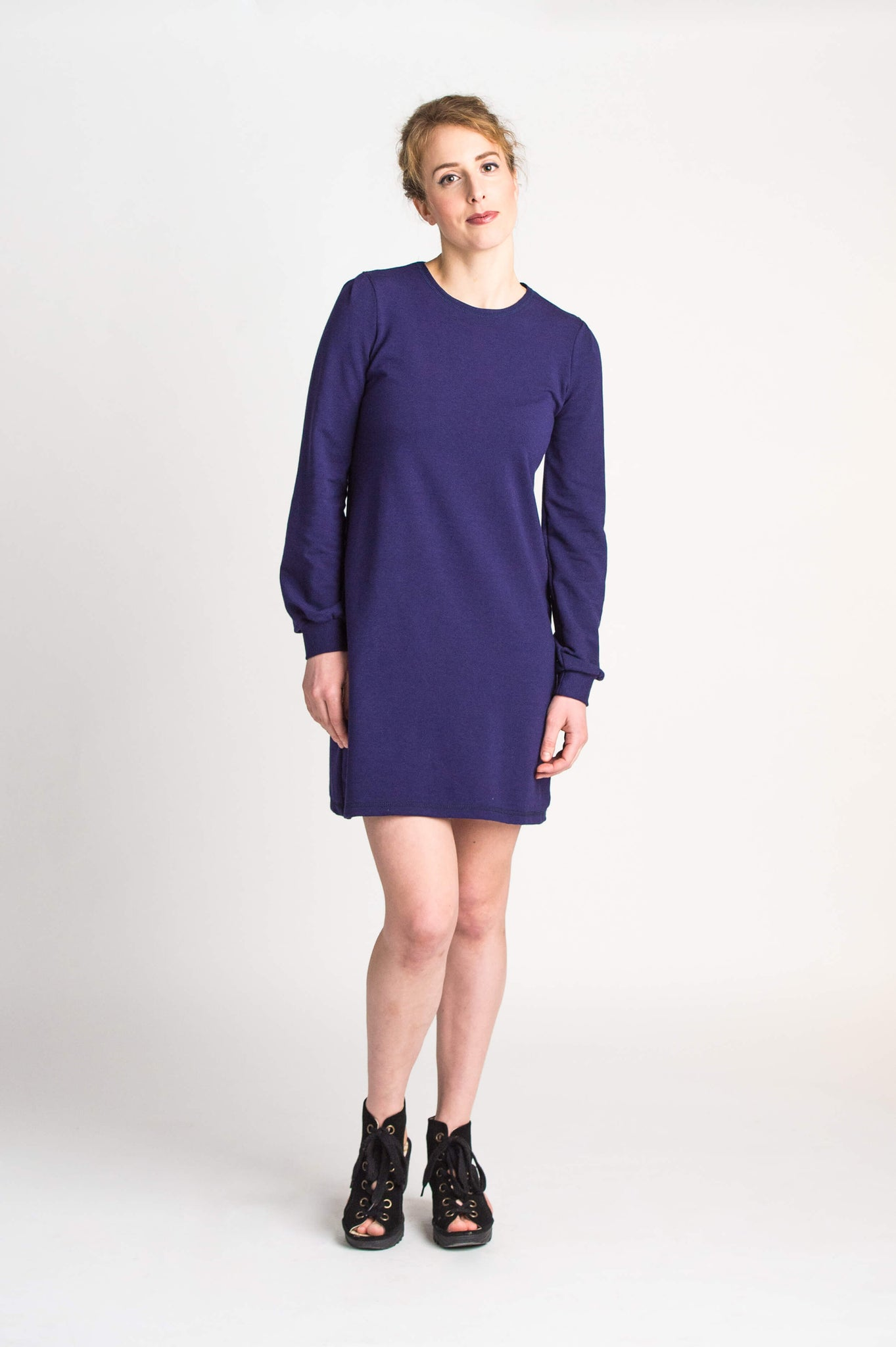 Duffield-Design-Cosmos-Iris-Blue-Dress-Front